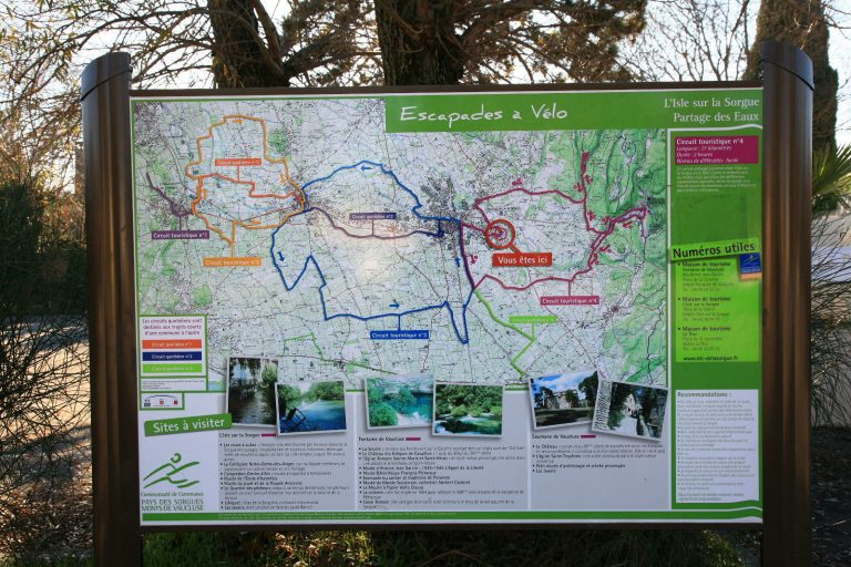 Truji-cycle bike luberon - Escapade vélo Partage des Eaux